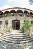 Log in cells Bachkovski monastery in Bulgaria royalty free stock photo