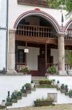 Log in cells Rila Monastery in Bulgaria Royalty Free Stock Photos