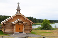 Log Chapel Royalty Free Stock Photography