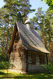 Log church Royalty Free Stock Image
