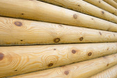 Log construction Royalty Free Stock Image