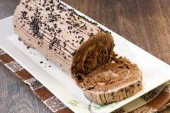 Log de chocolat photo stock