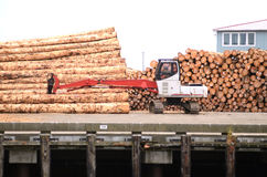 Log Exports Royalty Free Stock Images