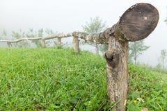 Log fence Stock Photography