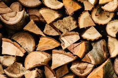 Log for the fireplace Royalty Free Stock Photo