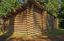 Log Fort Stock Images