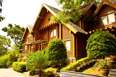 A log home Stock Photography