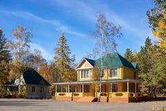 Log Home royalty free stock photo