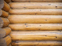 Log home background Royalty Free Stock Image