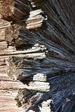 Log house detail Royalty Free Stock Photography