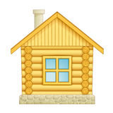 Log house icon Royalty Free Stock Images