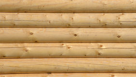 Log house texture as a grunge background Stock Photography