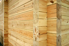 Log house wall Stock Photography
