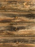 Log house wall Royalty Free Stock Images