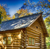 Log house. In the woods Stock Photography