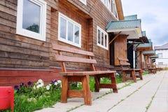Log houses Royalty Free Stock Photo