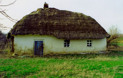 Log hut about 18 centuries of construction Royalty Free Stock Photos