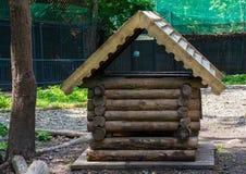 Log-hut Stock Image