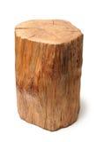 Log. Isolated on a white background Stock Photo