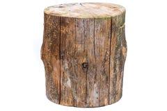 Log isolated on a white background. Wood log isolated on a white background royalty free stock photo