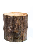 Log isolated on a white background Royalty Free Stock Image