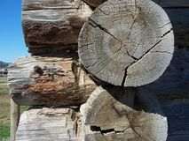 Log joints Royalty Free Stock Images