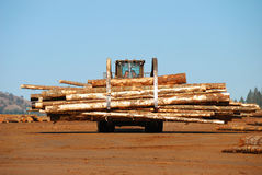 Log Loader Royalty Free Stock Photography