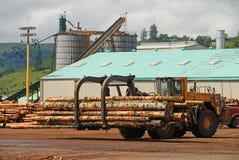 Log Loader Stock Photo