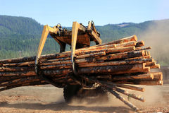 Log Mover Stock Image