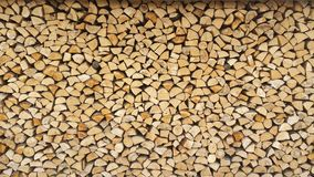Log pile Royalty Free Stock Photography