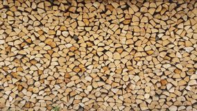 Log pile Royalty Free Stock Photo