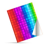 Log in rainbow cover. Template concept Stock Photo