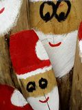 Log Santa Claus Royalty Free Stock Image