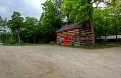 Log shack Stock Photo