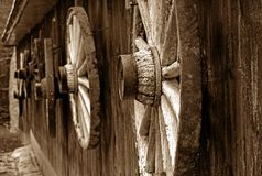 Log shack Stock Photography