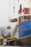 Log Ship Stock Photo