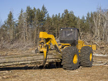 Log Skidder Royalty Free Stock Photos