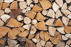 Log Stack Royalty Free Stock Photos