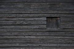 Log Texture With Window Stock Photos