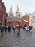 Log in to the Red Square through the Resurrection Gate Royalty Free Stock Photography