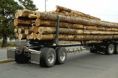 Log Truck 2 Stock Photo
