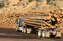 Log Truck Royalty Free Stock Photos