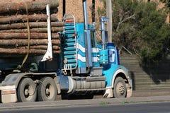 Log Truck Stock Image