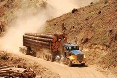 Log Truck Royalty Free Stock Image