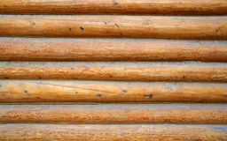 Log wall royalty free stock photos