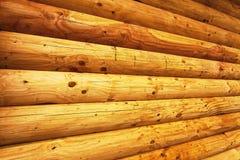 Log Wall Royalty Free Stock Photo