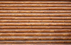 Log walls Royalty Free Stock Photography
