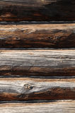 Log walls Stock Images