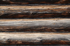 Log walls Royalty Free Stock Photos