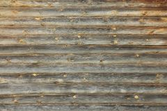 A log wood wall background. A log wood wall of house royalty free stock image